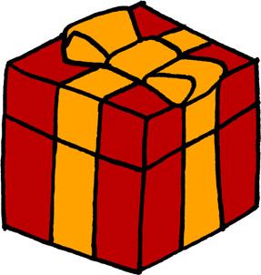 プレゼントボックスイラストフリー素材 誕生日プレゼント クリスマス バレンタイン 赤